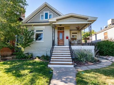 Salt Lake City Single Family Home For Sale: 633 7th Ave