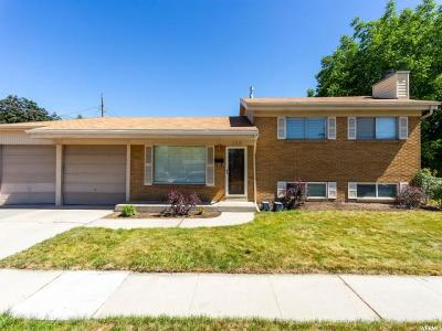 Murray Single Family Home For Sale: 130 W 5750 S