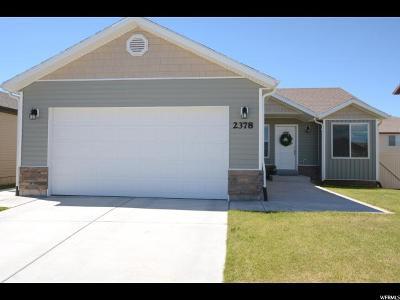 Eagle Mountain Single Family Home For Sale: 2378 E Ox Yoke Dr N