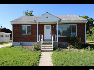 Murray Single Family Home For Sale: 218 W 5900 S