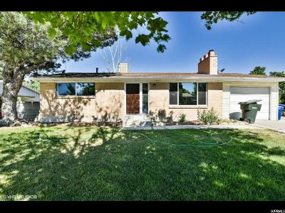 Salt Lake City Single Family Home For Sale: 4453 S 3420 W
