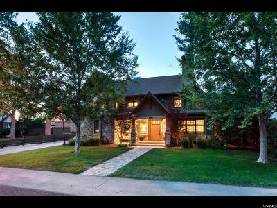 Salt Lake City Single Family Home For Sale: 1923 E Atkin Ave