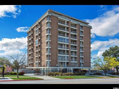 Salt Lake City Condo For Sale: 710 E 200 S #3B