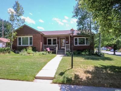 Salt Lake City Single Family Home For Sale: 2184 S Wilmington Cir E