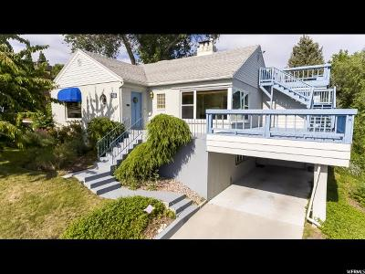 Salt Lake City Single Family Home For Sale: 620 F Stre