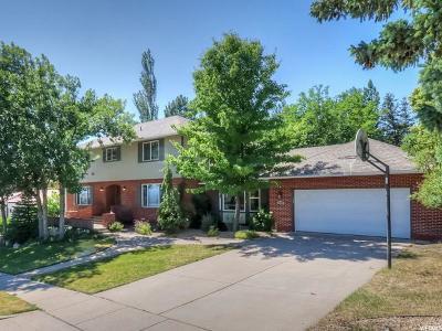 Salt Lake City Single Family Home For Sale: 1195 E Chandler Dr