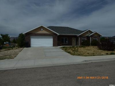 Castle Dale UT Single Family Home For Sale: $164,900
