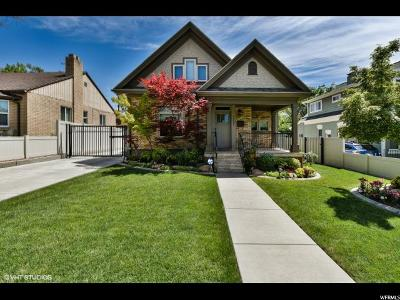 Salt Lake City UT Single Family Home For Sale: $675,000