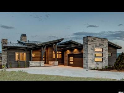 Wasatch County Single Family Home Under Contract: 1717 E Haystack Mountain Crt (Lot 327