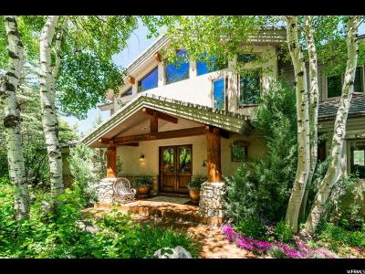 Park City Single Family Home For Sale: 4074 W Moose Hollow Rd #21
