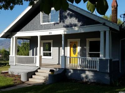 Hyrum Single Family Home For Sale: 32 N Center Street