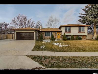 West Jordan Single Family Home For Sale: 9160 S Judd Ln