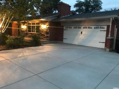 Cottonwood Heights Single Family Home For Sale: 7099 S Cherry Tree Ln E