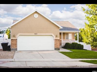 Herriman Single Family Home For Sale: 5412 W Shaggy Peak Dr