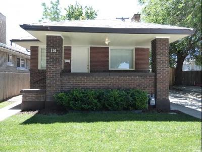 Salt Lake City UT Single Family Home For Sale: $269,900