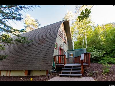 Park City Single Family Home For Sale: 4521 W Hidden Cove Rd