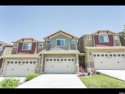 Herriman Townhouse For Sale: 14477 Ryegate Dr