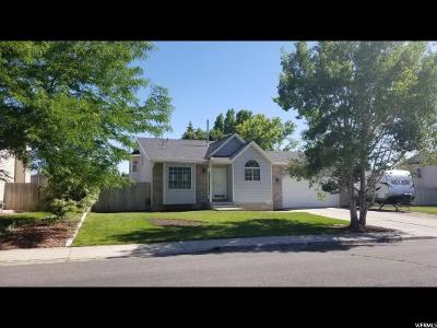 Lehi Single Family Home For Sale: 1261 W 1835 N