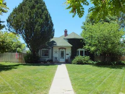 Single Family Home For Sale: 524 S 100 E