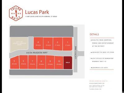 South Jordan Residential Lots & Land For Sale: 3559 W Vista Pradera Way S