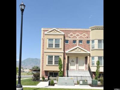 Spanish Fork Townhouse For Sale: 313 W Parkview Ln #1