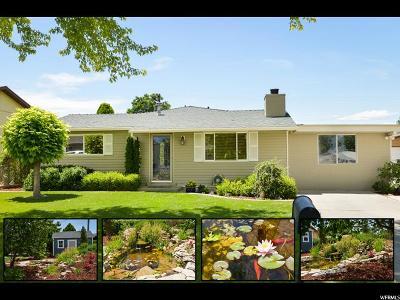 South Jordan Single Family Home For Sale: 9718 S 1600 W