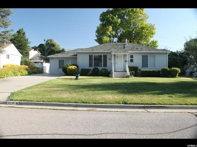 Murray Single Family Home For Sale: 15 W Valley Dr S