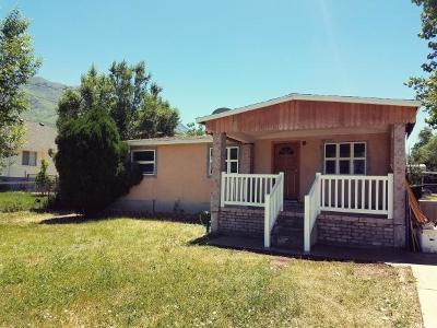 Santaquin Single Family Home For Sale: 180 E 100 S