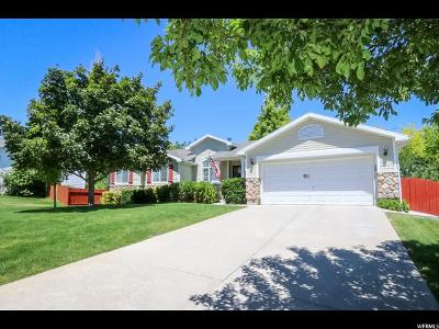 West Jordan Single Family Home For Sale: 4514 W Ripple Dr S