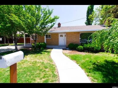 Orem Single Family Home For Sale: 65 W 1600 N