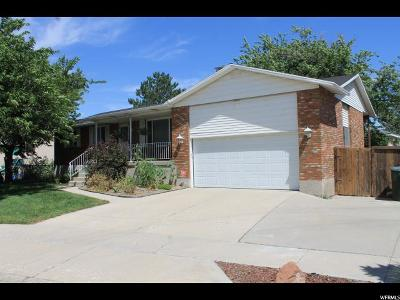 West Valley City Single Family Home For Sale: 2118 W Barker Rd