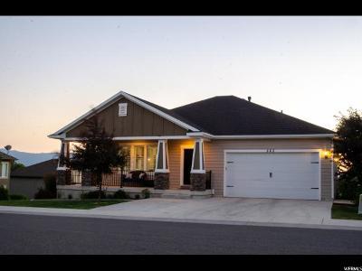 Smithfield Single Family Home For Sale: 523 S Cardon Rdg