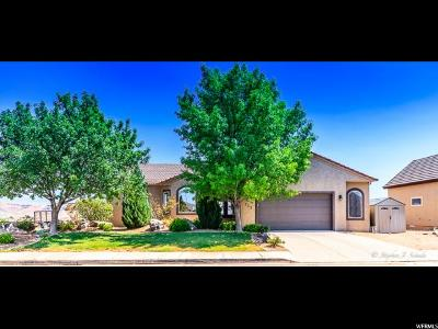 St. George Single Family Home For Sale: 752 W Obsidian Cir