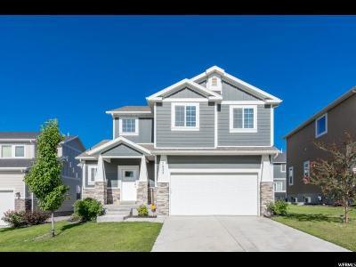 Eagle Mountain Single Family Home For Sale: 7833 N Oakwood Dr