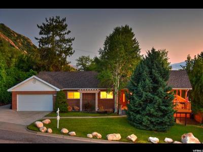 Salt Lake City Single Family Home For Sale: 3332 E Oakcliff Dr S