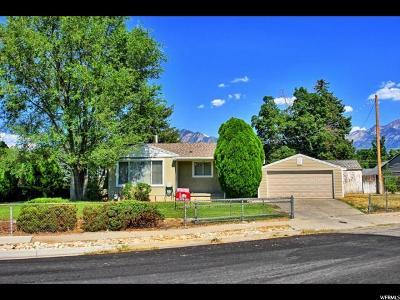 Murray Single Family Home For Sale: 6283 S 370 E