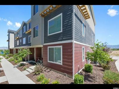 Bluffdale Townhouse For Sale: 14688 S Rising Star Way W