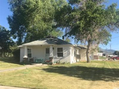 Fillmore Single Family Home For Sale: 185 W 300 S