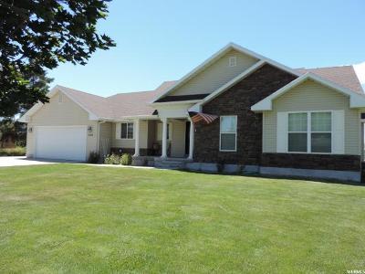 Benson Single Family Home For Sale: 3155 N 3200 W