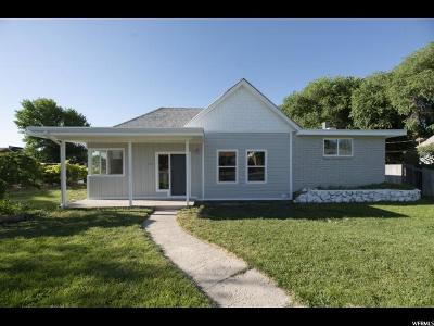 Spanish Fork Single Family Home For Sale: 198 W 100 S