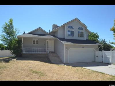 Springville Single Family Home For Sale: 1184 S 1190 E