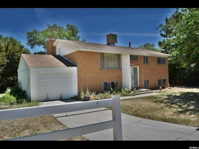 Riverton Single Family Home For Sale: 13317 S 1830 W