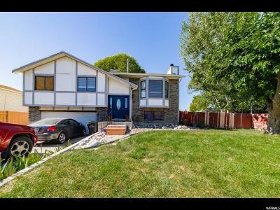 West Jordan Single Family Home For Sale: 1229 W Capernaum Rd