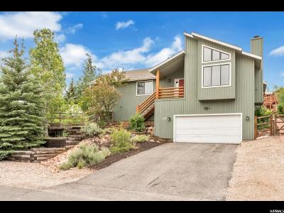 Park City Single Family Home For Sale: 1735 Pheasant Way