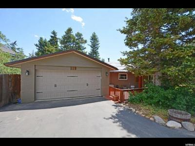 Park City Single Family Home For Sale: 113 Paradise Rd