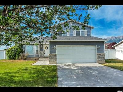 Single Family Home For Sale: 1592 W 575 S