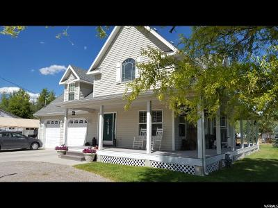 Wasatch County Single Family Home For Sale: 65 S Center