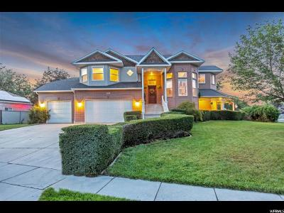 South Jordan Single Family Home For Sale: 2444 W Canterwood Dr