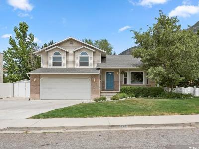 Pleasant Grove Single Family Home For Sale: 837 E 750 N