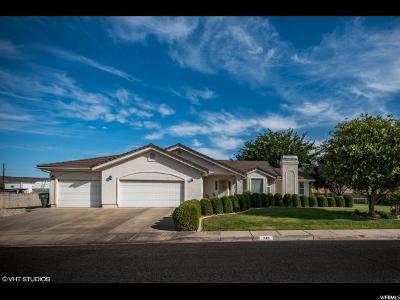 St. George Single Family Home For Sale: 745 E Morningside Dr